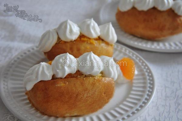 香橙香草布丁包