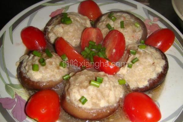 肉末酿香菇