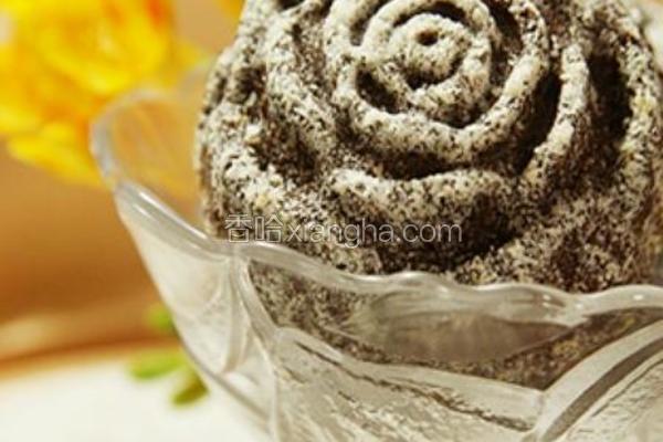 玫瑰巧克力玛芬