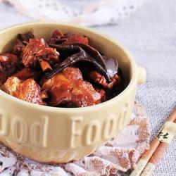 崂山松蘑炖鸡的做法[图]