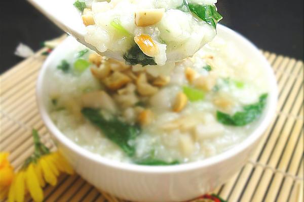 竽头芹菜海米粥