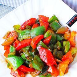 蚝油青红椒的做法[图]