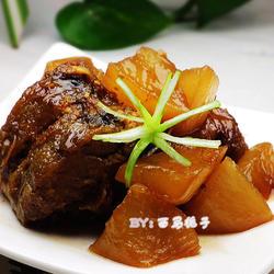红烧鳕鱼炖萝卜的做法[图]