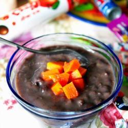 椰香木瓜红豆沙冰的做法[图]