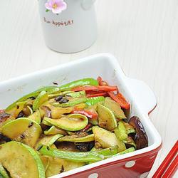 豆豉炒西葫芦的做法[图]