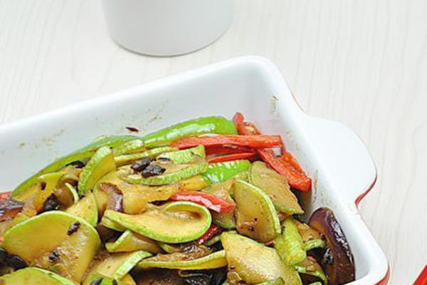 豆豉炒西葫芦