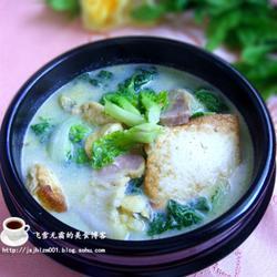 咸肉炖豆腐的做法[图]