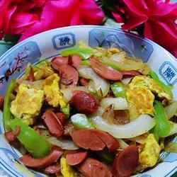 洋葱鸡蛋炒火腿的做法[图]