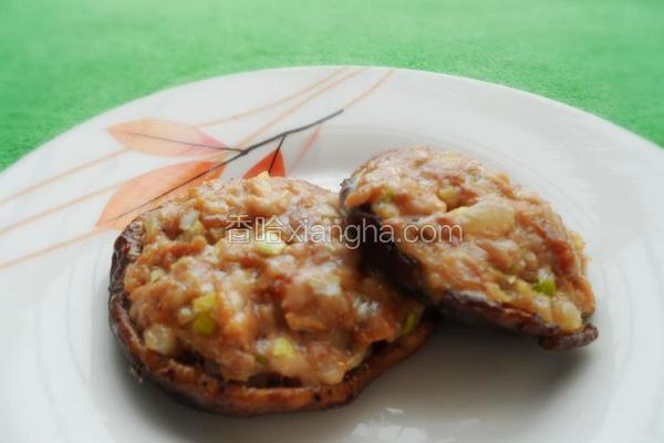 烤香菇酿肉