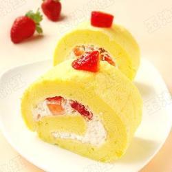 草莓奶油蛋糕卷的做法[图]
