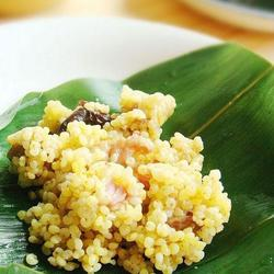 黄米粽香鸡的做法[图]
