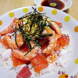 什锦海鲜散寿司的做法[图]
