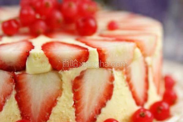 乳酪草莓蛋糕