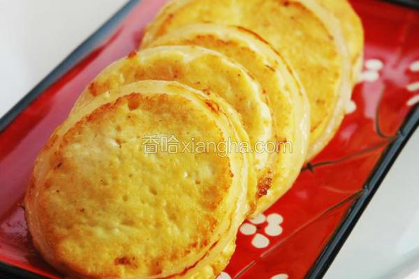 豆腐鸡蛋圆葱饼