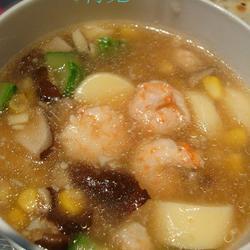 虾仁日本豆腐汤的做法[图]