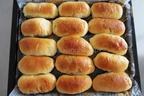 培根面包的做法