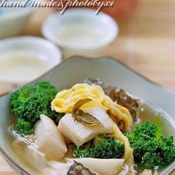 兰花鳕鱼茶汤煮的做法[图]