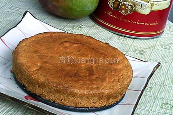 玉米面天使蛋糕