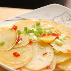 剁椒土豆片的做法[圖]