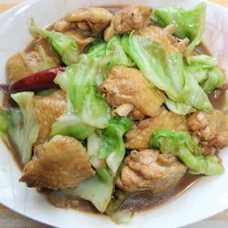 卷心菜炒鸡翅的做法[图]