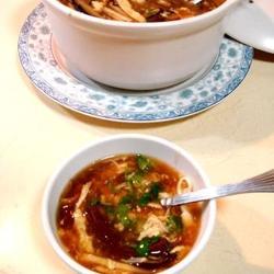 红白豆腐酸辣汤的做法[图]