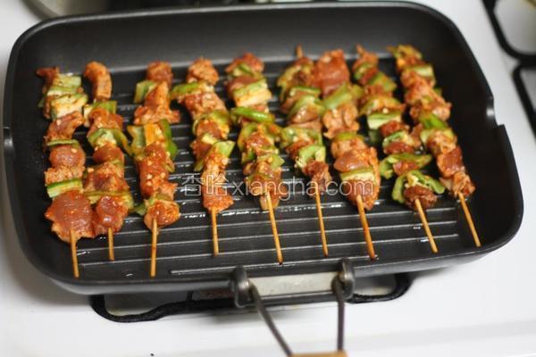 家庭烤肉串