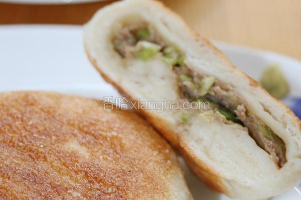 白菜牛肉煎饼