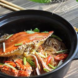 螃蟹粉丝煲的做法[图]