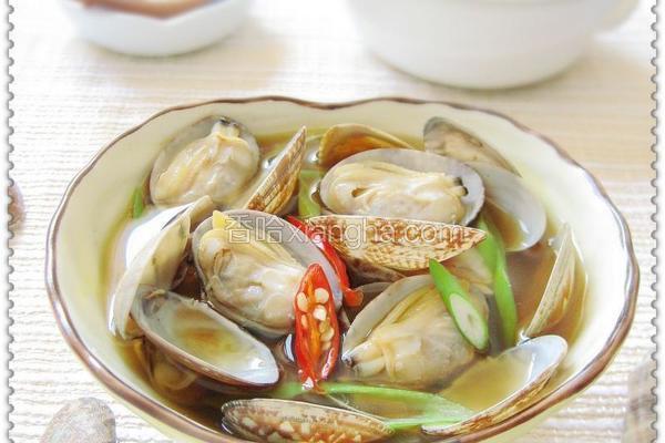 豆酱蛤蜊汤