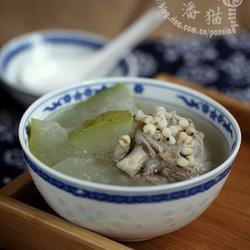 薏米冬瓜排骨湯的做法[圖]