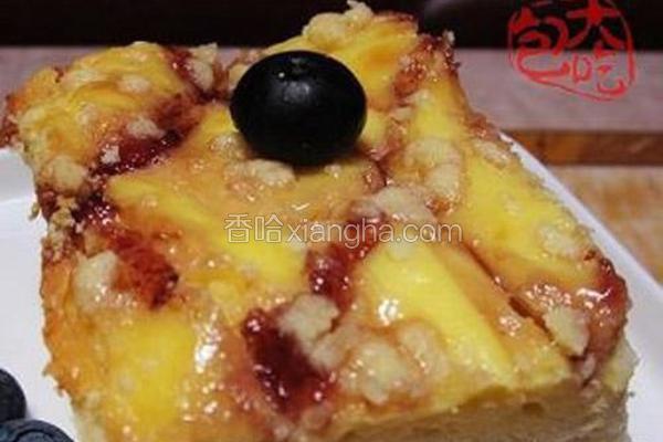 奶酪蓝莓蛋糕