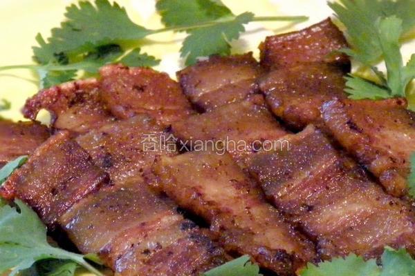 香煎南乳肉