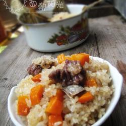 胡萝卜糯米饭的做法[图]