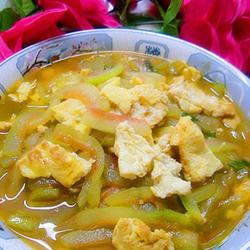 西瓜皮炒蛋的做法[图]