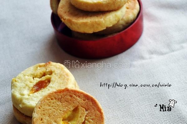 芒果酱酥饼