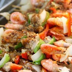 黑胡椒北极虾串的做法[图]