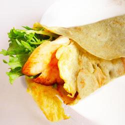 杂粮苦菊鸡肉卷的做法[图]
