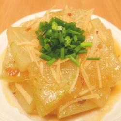 豆瓣醬炒冬瓜的做法[圖]