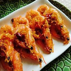 黄金香辣虾的做法[图]