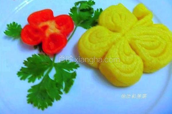 蝴蝶玉米花卷