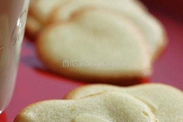蛋白杏仁饼干