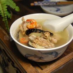 鸭肉鲍鱼干汤的做法[图]
