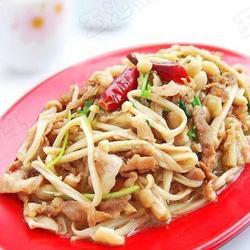 金针菇炒羊肉卷的做法[图]