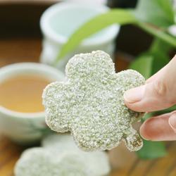 抹茶叶形饼的做法[图]