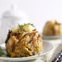 莲子蟹米糕的做法[图]