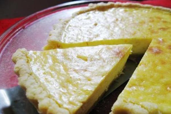 柠香乳酪派
