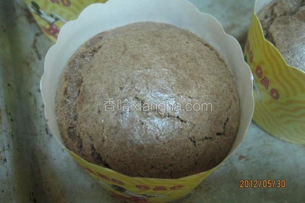 巧克力杯装蛋糕
