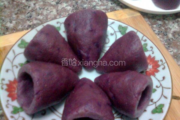 紫薯杂粮窝头