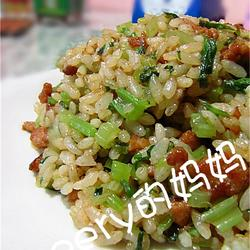 芹菜牛肉炒饭的做法[图]