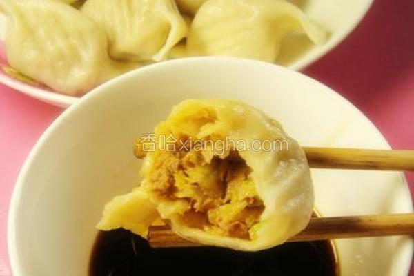 白菜猪肉饺子